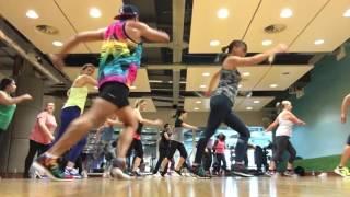 Corazón Valiente Natalia Oreiro Gilda zumba fitness choreography by Zumba Papi Uk high impact
