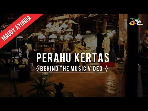 Maudy Ayunda - Behind The Music Video of Perahu Kertas