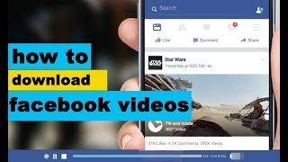 How to Download Facebook Videos!