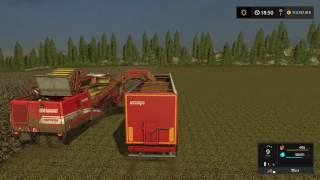 Let's Play Farming Simulator 2017 | Goldcrest Valley | harvesting potatoes | Episode 5