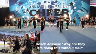2015 - E & J - Surprise Proposal - West Halifax Cheer Style