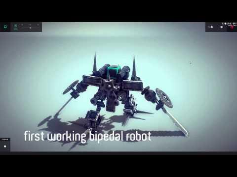 BESIEGE #001 | SPIKY The Bipedal War Robot