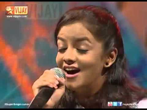 Super Singer Junior   Azhagiya Kanne by Shivani