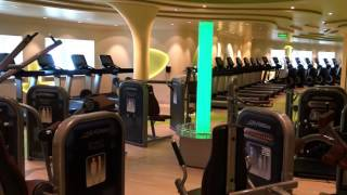 AIDAPRIMA RUNDGANG - FITNESS CENTER