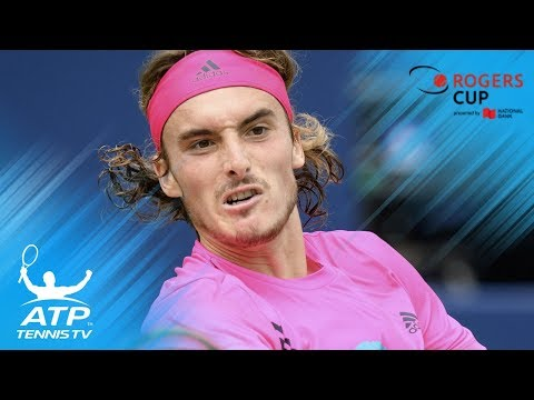 Top 5 Shots: Tsitsipas vs Djokovic at Rogers Cup 2018