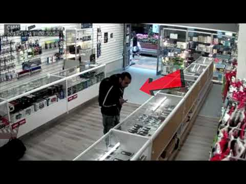 Thief in Birmingham United Kingdom (Gadget Exchange)