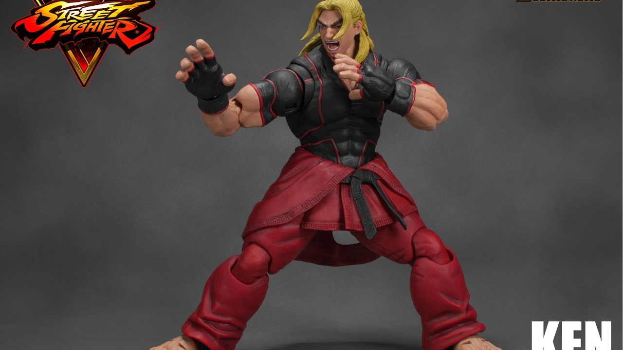 Street Fighter V Ken 1 12 Scale Action Figure By Storm
