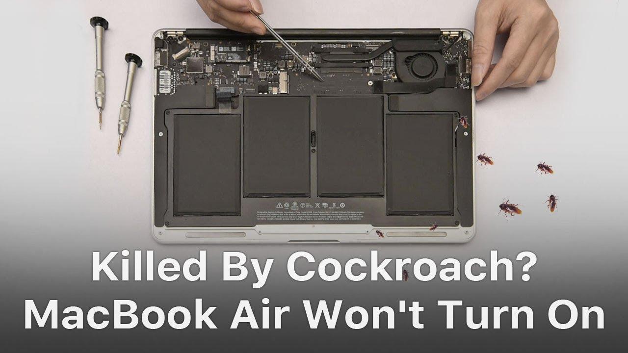 MacBook Air Won't Turn On Troubleshooting - REWA
