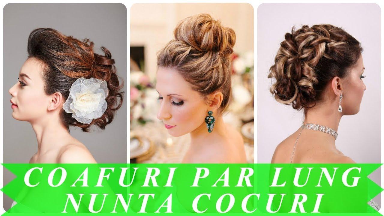 Modele Coafuri Par Lung Nunta Cocuri 2018 Youtube