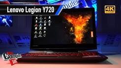 Lenovo Legion Y720 im Test: Faires Gaming-Notebook