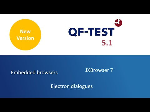 QF-Test Version 5.0 - Testing Windows applications