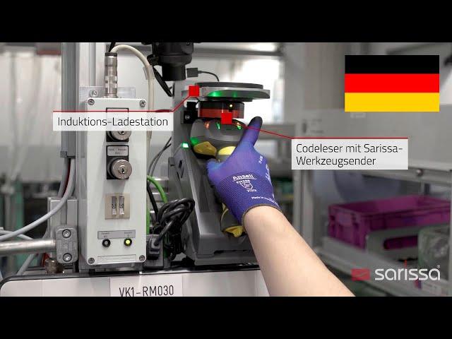 Sarissa PositionBox im Einsatz bei der BMW-Group, Motoren-Manufaktur München