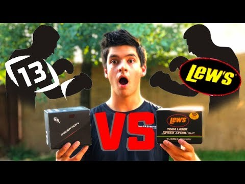 Lew's VS 13 Fishing!! (Honest Comparison!)