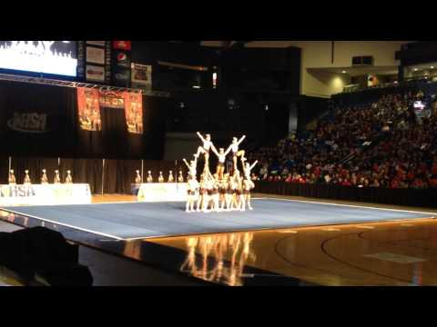 Oak Forest Varsity Cheer 2016 IHSA State Day 1
