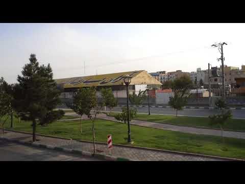 Entering Mashhad Iran, 10 2 2017