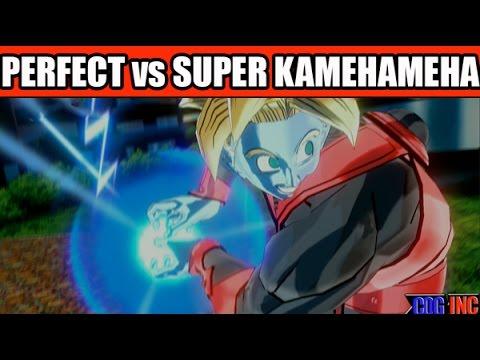 Dragon Ball Xenoverse - Perfect Kamehameha vs Super Kamehameha