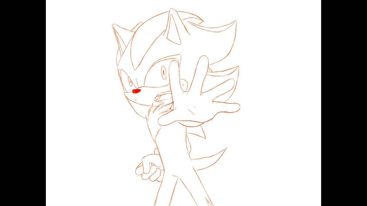 Line Drawing Hedgehog : What humans did to you shadow the hedgehog animation youtube