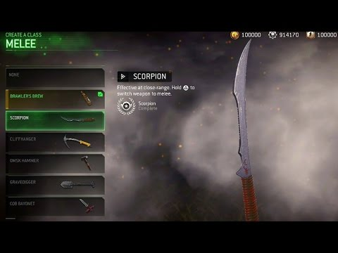 HOW TO UNLOCK ALL 6 NEW MELEE WEAPONS FOR FREE! (NEW MWR MELEE WEAPONS)