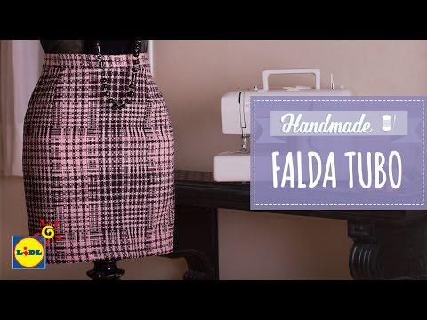 Falda De Tubo - Lidl Costura