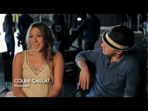 Colbie Caillat & Gavin DeGraw 'We Both Know' Behind The Scenes