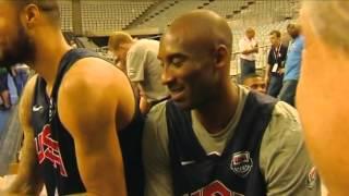 """Kobe Bryant: """"Voy a jugar en el F.C. Barcelona"""""""