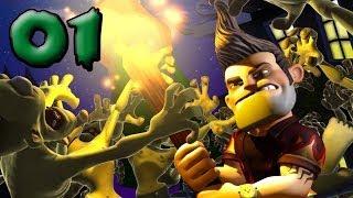 Lets Play BURN ZOMBIE BURN #01 Deutsch Gameplay