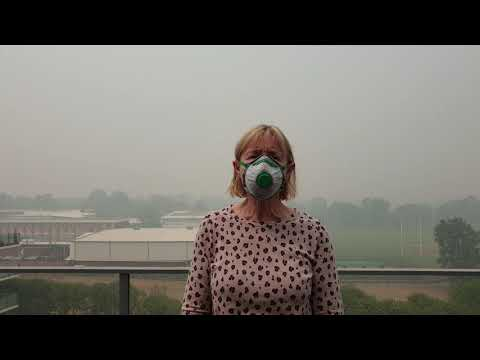 Canberra is choking from bushfire smoke, and doctors call for climate action now