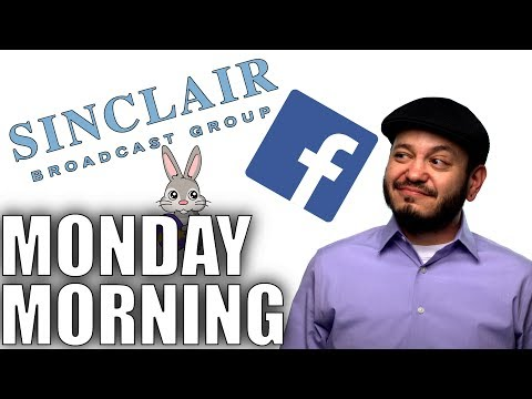 Sinclair Media Creepy, Facebook Creepy, and April Fools on Easter - Monday Tech Chat!