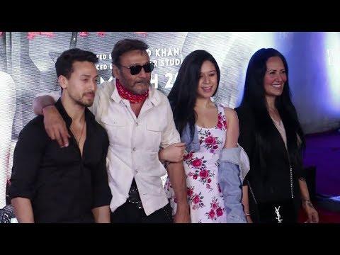 Tiger Shroff's Family At Baaghi 2 Premiere | Jackie Shroff,