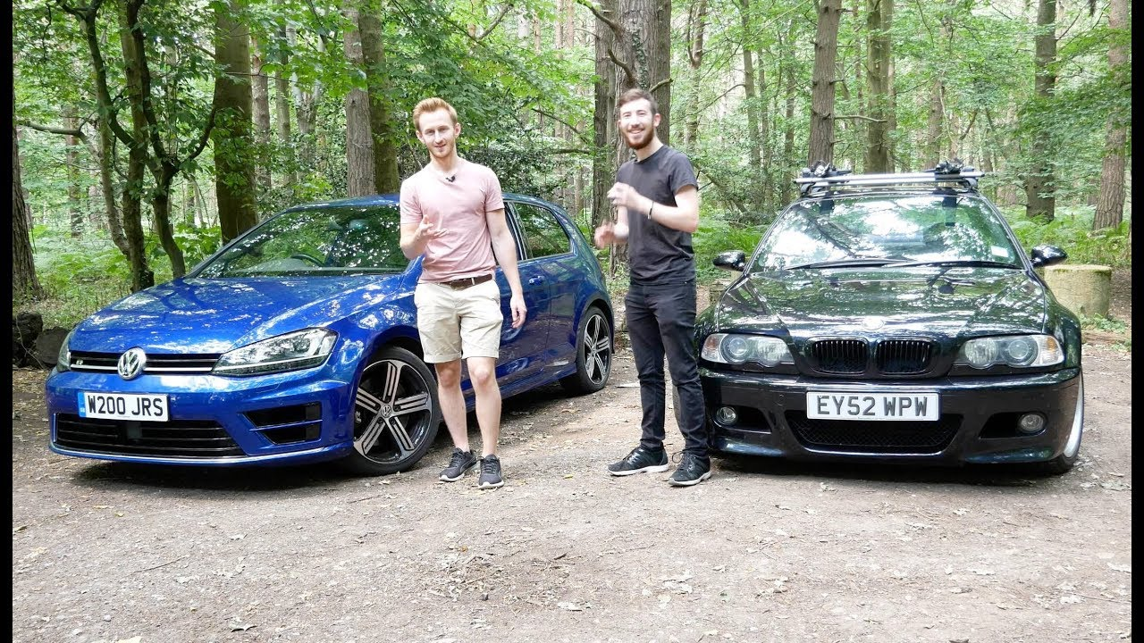 Golf R Vs E46 M3 Is The Classic M Badge Better Than Todays Hot