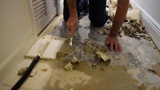 Removing Linoleum From Concrete