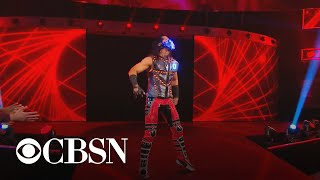 Muslim wrestler uses platform to defy stereotypes and serve as a role model