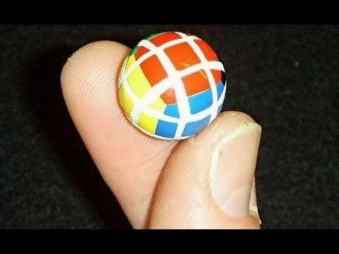 Construction of Tony Fisher's Micro 3x3x3 Ball Puzzle