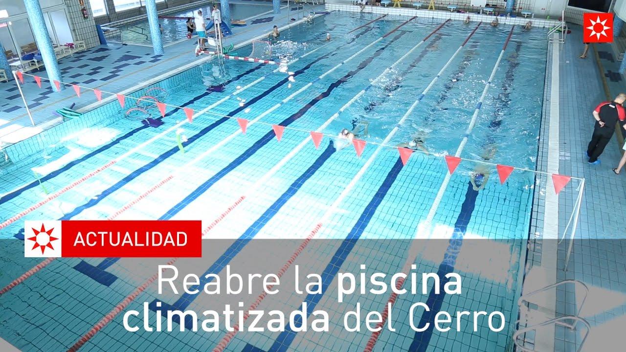 Reabre la piscina climatizada del cerro youtube - Piscina rivas vaciamadrid ...