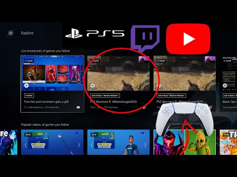 How to watch YouTube/Twitch while playing any game on the PS5 (Sorta)
