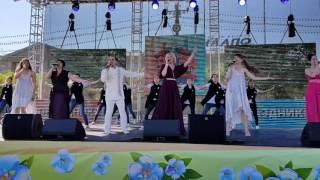 Хабаровск 159 лет ,праздничный концерт ,песня Хабаровск-наш город  мечты!