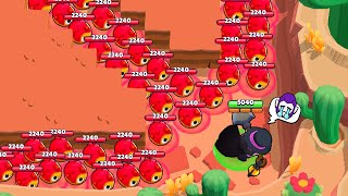 99 TICK HEADS vs UNLUCKY MORTIS!| Brawl Stars Funny Moments & Glitches & Fails #407