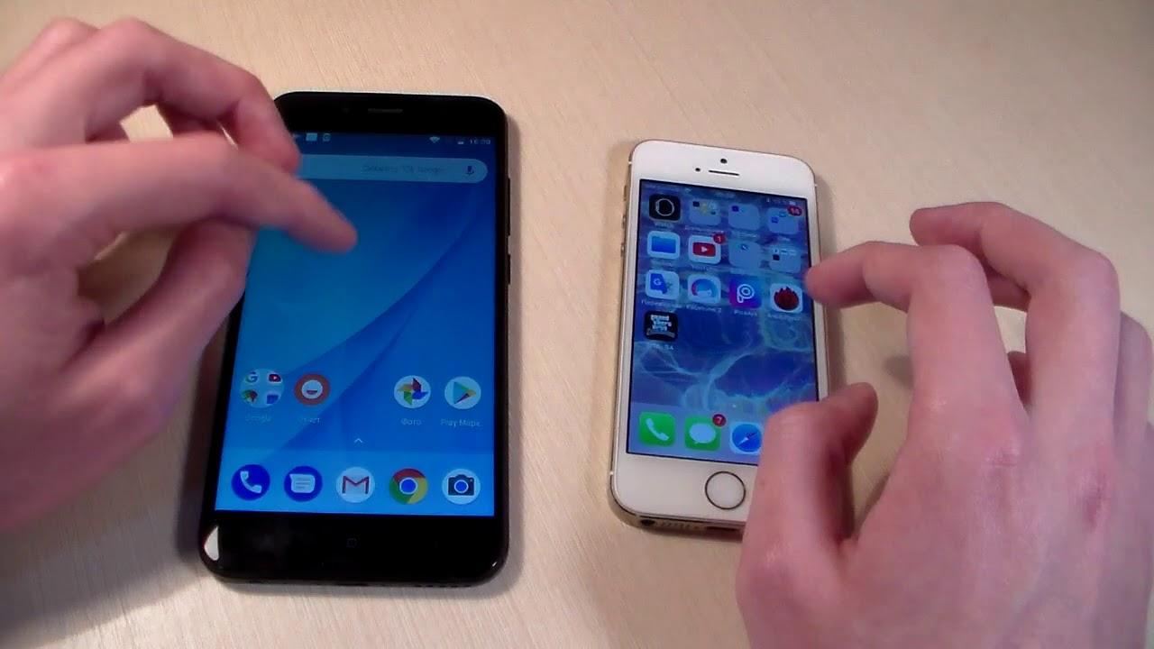 iPhone 5S (iPhone 6 Mini) в корпусе цвета Matte Black (НОВИНКА .