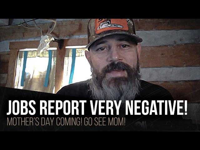 Jobs report very negative!