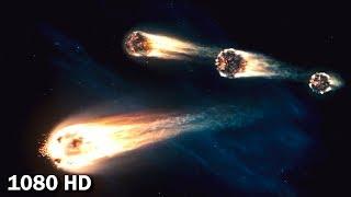 Трансформеры приземляются на землю в метеоритах   Трансформеры (2007)