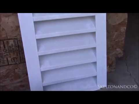 Installing an Attic Vent on Stucco Exterior