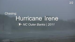 Hurricane Irene eyewall hit - NC Outer Banks | 2011 (2 of 2)