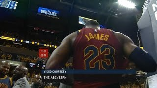 JR.Smith Bricks The Game Winner!LeBron James Gets Upset After The Loss