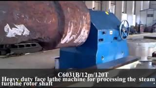 heavy duty horizontal lathe machine from china