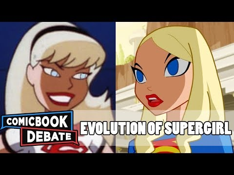 Evolution of Supergirl in Cartoons in 9 Minutes 2017