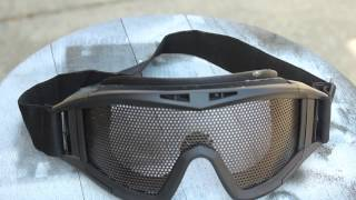 Are Mesh goggles safe for airsoft ??