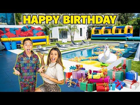 FERRAN'S 10th BIRTHDAY SURPRISE!! | The Royalty Family