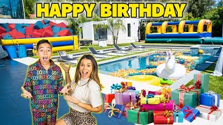 FERRAN'S 10th BIRTHDAY SURPRISE!! | The Royalty Family