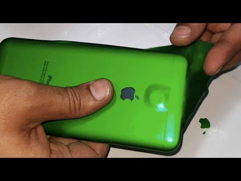 Make you Mobile look like iPhone. Decorate mobile phone iPhone wrap 2018 trick best