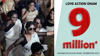 Love Action Onam | Maharajas College Ernakulam  Onam celebration 2k19